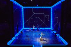 """The Curious Incident of the Dog in the Night-Time"" Set Design by Bunny Christie"