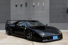 Restored (Black) Ferrari F40 - by Gas Monkey Garage