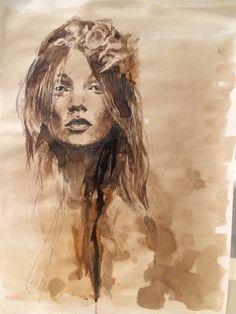 Fashion portraits - Kate Moss