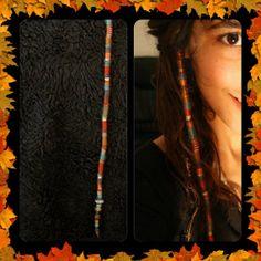 Hair Jewelry RASTA hair wraps hair accessories by ArtOfGoddess, ₪115.00