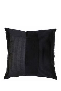 "Peacoat Navy Gia Pleated Faux Silk Stripe Pillow - 20"" x 20"" by Thro Home on @HauteLook #thro #throbyml #marlolorenz #pillows #collection #homedecor #home #decor #style #fashion #design #prints #patterns #words #glam #sparkle #shine #animals #decorate #redecorate #livingroom #bedroom #house #like #follow #share #spread #love #hautelook #sale #shop #shopping #buy #gifts #presents"