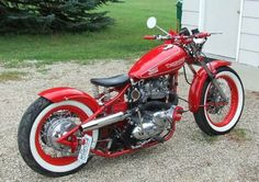 1965 Triumph 650 custom bobber