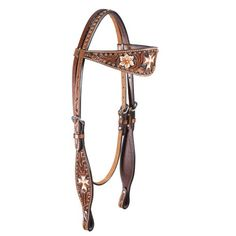 Teskey's Chestnut Painted Browband headstall