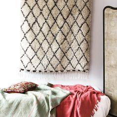 Moroccan beni o carpet.