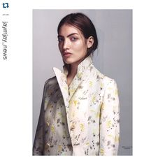 Repost @jaymjay_news  @modemagasinet_in So excited to see one of my bird prints I did for Cacharel in Paris featured in Danish 'IN' magazine #overthemoon by sophia.sunray