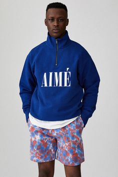 Created in Aimé Leon Dore is a fashion and lifestyle brand based out of New York City. Thrasher, Basic Outfits, Cool Outfits, Men Street, Street Wear, Tommy Hilfiger, Sailing Jacket, Aime Leon Dore, Work Jackets