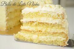 Bolo de Leite Ninho – Isamara Amâncio Other Recipes, Sweet Recipes, Cake Recipes, Dessert Recipes, Food Cakes, Bolo Chiffon, Brownie Cupcakes, Milk Cake, Love Cake