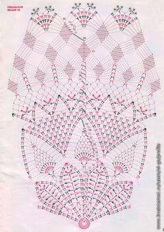 Kira scheme crochet: The latest scheme Free Crochet Doily Patterns, Filet Crochet Charts, Crochet Circles, Crochet Diagram, Crochet Designs, Knitting Patterns, Crochet Dollies, Crochet Hats, Thread Crochet