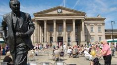 Huddersfield - top 3 lonely planet places to go. New Travel, Train Travel, Huddersfield Town, English Poets, East Yorkshire, Listed Building, Westminster, Lonely Planet, Planets