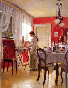 Peter Ilsted - The Dining Room