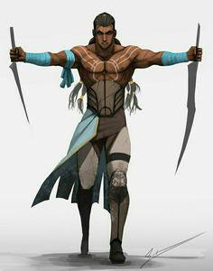 Human Slayer - Pathfinder PFRPG DND D&D d20 fantasy