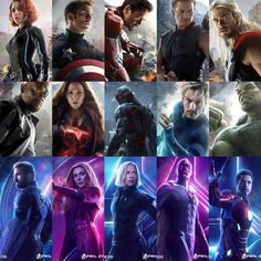 How do the Avengers Age Of Ultron posters hold up against the Avengers Infinity War posters?