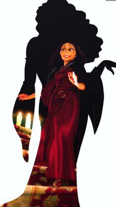 Disney villains silhouettes