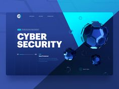 Cyber Security Header Design by Avian Rizky for Sebo on Dribbble Layout Design, Web Layout, Page Design, Banner Design, Ui Design, Interface Design, Flat Design, Design Elements, Website Security