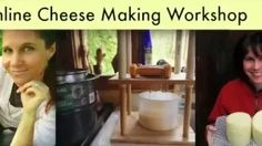 Here is a one minute video about my online cheese making course.  It gives you a real taste for the cheese we'll be making!