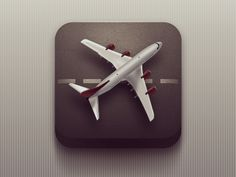 Plane #app #icon #ios #os #application #design
