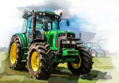 John Deere art #art #equipment #agricultural #tractor #farm #equipment #agriculture #farmer @JohnDeere