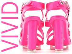 The perfect pink neon sandals!