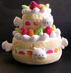 san-x nyanko cake