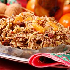 Obowiązkowy deser wigilijny: kluski z makiem Kinds Of Desserts, Fettuccine Alfredo, Pulled Pork, Side Dishes, Cereal, Grains, Healthy, Breakfast, Ethnic Recipes