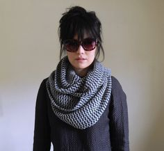 Super Soft Cashmere Knit Infinity Scarf for Men & by IRISMINT, $88.00