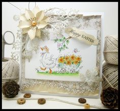 Vixx Handmade Cards: LILI OF THE VALLEY DT POST ~ A CART FULL OF SUNSHINE...
