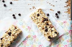 These homemade granola bars are not only much healthier than the ones you can buy at a store, they taste way better too! Get the recipe here.