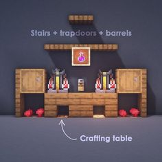 Looking to brew some trouble, or are you just in need of a health potion? Here are three different brewing station designs to fit into your…