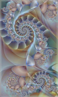 Fractals - Dreaming of Sylvania - By Fractal Geometry, Sacred Geometry, Fractal Images, Fractal Art, Walpapers Iphone, Fractal Patterns, Fractal Design, Geometric Designs, Art Images