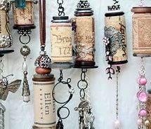 Re-purposing...many ideas you could use this for...necklaces, pull chains, wind chimes...