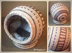 Плетение из газет - Страница 76 : Рукоделие