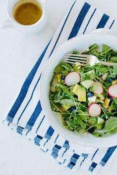 arugula salad.