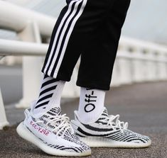 Zebra YEEZY Boost 350 V2
