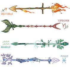 Zodiac Arrows (3/3)