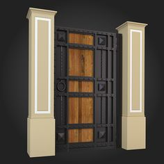 Gate 020 ...  3d, architecture, building, classicism, classics, decoration, design, exterior, garden, gazebo, interior, landscape, model, outdoors, park, render, street element, v-ray
