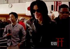 Michael Jackson in Japan, 2007.