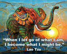 when I let go of what I am... I think this will be one of my new mantras❤