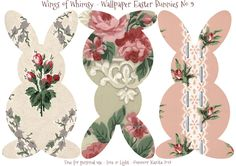 Wallpaper Easter Bunnies – Day 3 of 5 | Wings of Whimsy