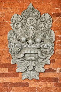 Stone bas-relief on the brick wall. Buddhist Symbols, Buddhist Art, Fu Dog, Pop Art Wallpaper, Indonesian Art, Tibetan Art, Asian Tattoos, Tanjore Painting, Monuments