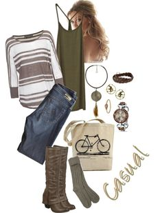 Casual, created by hayleejade3 on Polyvore