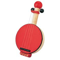 """Inspire your child's musical creativity and explore various sounds with the strum of this simple PlanToys Banjo. PlanToys®' values have been rooted from embracing mother nature. For over 30 years, PlanToys® has been recycling the wood from expired rubber wood trees to create beautiful wooden toys that inspire children's imaginations and promote a commitment to sustainable play for generations to come. """"Sustainable play is the foundation of how our toys cultiva..."""