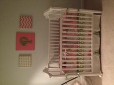 DIY wall hanging for nursery.