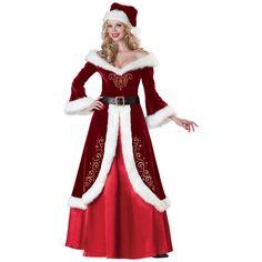 INCHARACTER COSTUMES REF: 51004 MISS SANTA - Incluye el vestido, el gorro y el cinturon. PRECIO COLOMBIA: 270.000