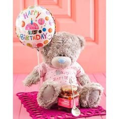 This cute tatty teddy bear with a pink heart, an anniversary balloon, a bottle of Pongracz bubbly and a box of nougat is the perfect anniversary gift. Gift Hampers, Gift Baskets, Tatty Teddy, Teddy Bear, Anniversary Gifts, Balloons, Bubbles, Africa, Happy Birthday