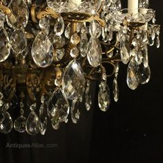 Antiques Atlas - Italian Gilded 24 Light Antique Chandelier