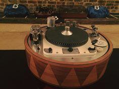 "А трансформаторы-то и лампы ""гудят"" - нафига такой ""комбайн"" - Garrard 301 and integrate tubes preamplifier RIAA MC-1 moving coil pick up"