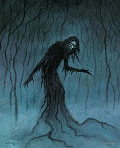 Enter the realm of gothic fantasy artist Joseph Vargo, a chilling, mist-shrouded world of forlorn ghosts, brooding vampires, living gargoyles and other creatures of the night.