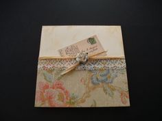 Shabby Chic Wedding Invites : Wedding Invitations,Wedding invites,Handmade Personalized Stationery, Luxury Handcrafted Wedding Invitations