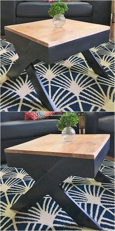 Here we will be sharing a pallet coffee table awesome idea for you! Custom designing of the pallet coffee table has been carried out with the superb crafting use of the wood material into it. This eventually adds up the whole location of your house corner into the impressive sort of beauty.
