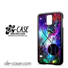 Infinity Love Softball Sports DEAL-5609 Samsung Phonecase Cover For Samsung Galaxy S5 / S5 Mini